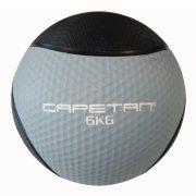 Capetan® Professional Line 6 kg springender Medizinball aus Gummi (auf Wasser schwimmend)