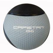 Capetan® Professional Line 8 kg springender Medizinball aus Gummi (auf Wasser schwimmend)