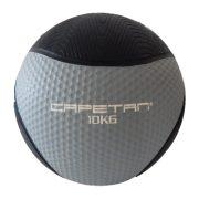 Capetan® Professional Line 10 kg springender Medizinball aus Gummi (auf Wasser schwimmend)