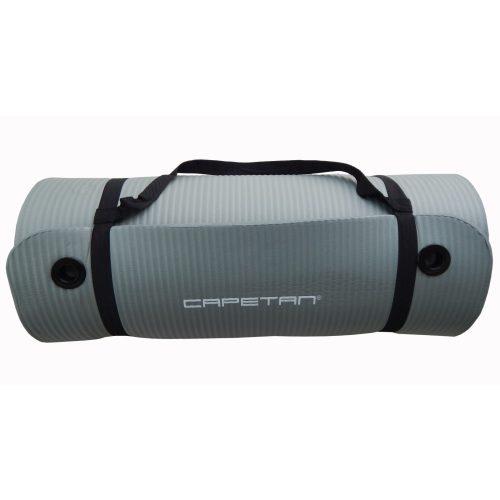Capetan® Professional Line NBR Fitnessmatte mit Aufhängern, extra dick, in 185x61x1,5 cm Größe