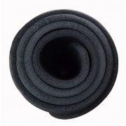 Capetan® Professional Line NBR Fitnessmatte mit Aufhängern in der Größe 179x59x0,8 cm, in schwarzer Farbe