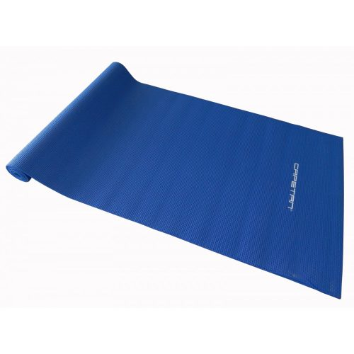 Capetan® PVC Jogamatte 173 x 61 x 0,5 cm in blauer Farbe – Fitnessmatte
