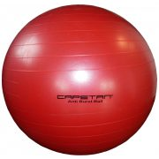 "Capetan® 95 cm Durchm. ROTER ""Anti-Burst"" explosionsgeschützter Gymnastikball"