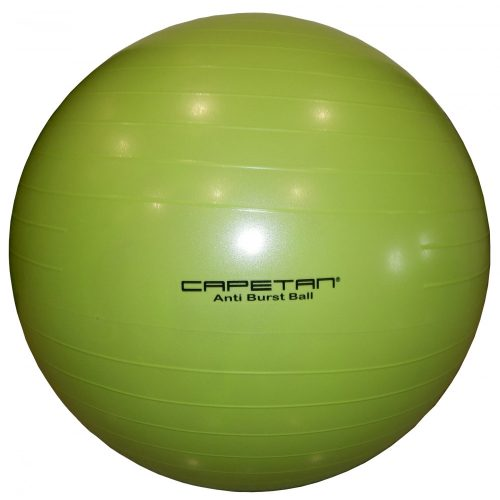 "Capetan® LIMETTENGRÜNER 65 cm Durchm. ""Anti-Burst"" explosionsgeschützter Gymnastikball"
