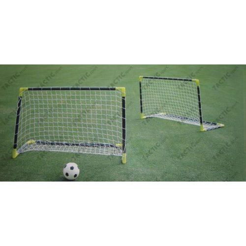 Minifußballtor-Set (PVC) – 2 Stück tragbare Plastik-Fußballtore