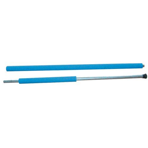 Netzstange zu Trampolinen – 2,5 Meter lang, mit blauer Schwammhülle