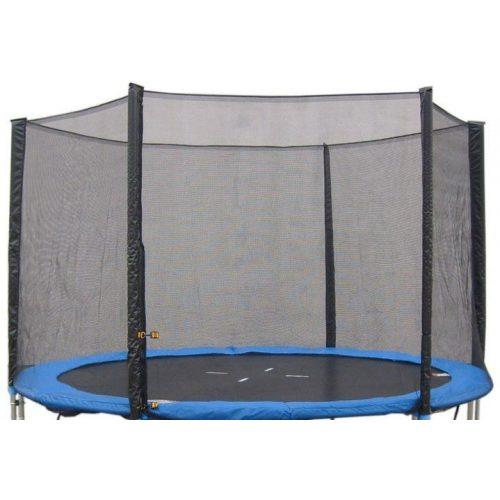 Sicherheitsnetz zu 244 cm Durchm. Fun, Fly High & Selector Trampolinen – Außennetz zu einem Trampolin mit 3 W-Beinen und 6 Netzstangen