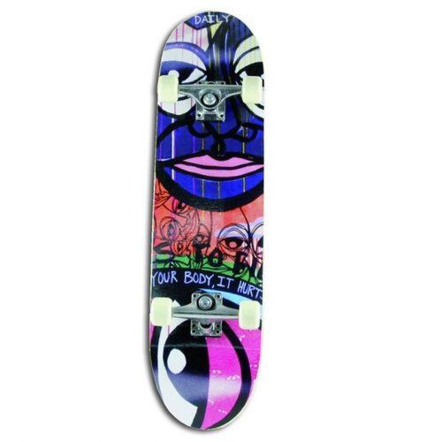 """Kinky Board"" 28"" Jugend-Skateboard für Anfänger"