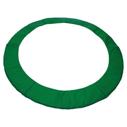 Federabdeckung zu Capetan® Olive Trampolinen in der Größe von 244 cm, tiefgrüne Farbe