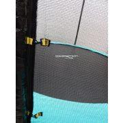 Capetan® Selector 366 cm Durchm. durch zusätzliche das Gestell befestigende T-Elemente verstärktes Trampolin mit extra hohem Sicherheitsnetz – premium Gartentrampolin mit dicker Federabdeckung