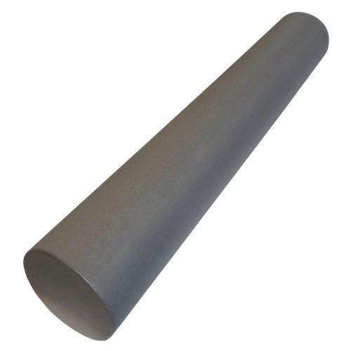Capetan® SMR Rolle standardmäßiger Härte in 15x90 cm Größe in grauer Farbe mit ebener Oberfläche
