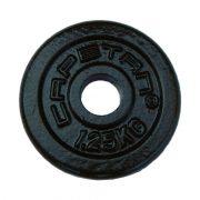 Capetan® 1,25 kg Hantelscheibe aus Stahl mit Hammerschlaglackierung, mit 31 mm Lochdurchmesser