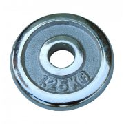 Capetan® verchromte 1,25 kg Hantelscheibe mit 31 mm Lochdurchmesser – verchromtes Hantelgewicht