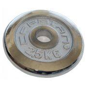 Capetan® verchromte 2,5 kg Hantelscheibe mit 31 mm Lochdurchmesser – verchromtes Hantelgewicht