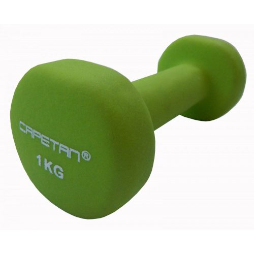 Capetan® 2x1 kg ein Paar Einhandhanteln mit Neoprenüberzug – Neoprenhanteln