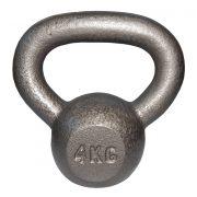 Capetan® Oracle 4 kg Kugelhantel mit Hammerschlaglackierung – Glockenhantel