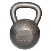 Capetan® Oracle 28 kg Kugelhantel mit Hammerschlaglackierung – Glockenhantel