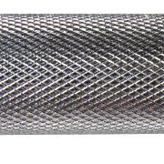 Capetan® 213 cm lange 30 mm Durchm. Hantelstange mit auslaufenden Gewinden und Schraubverschlüssen, mit 250 kg Belastbarkeit