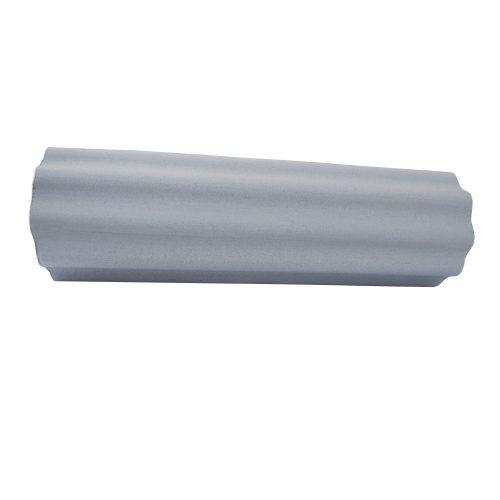 Capetan® 15 cm Durchm. 90 cm lange SMR Rolle aus EVAC Schaumstoff, mit großen Wellen gestaltete Oberfläche – in grauer Farbe