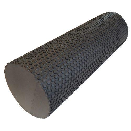 Capetan® 15 cm Durchm. 45 cm lange SMR Rolle aus EVAC Schaumstoff mit einer Oberfläche mit Massagepunkten – in grauer Farbe
