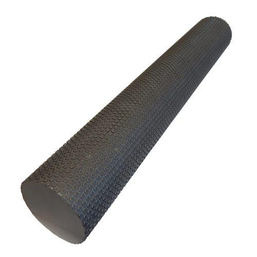 Capetan® 15 cm Durchm. 90 cm lange extra SMR Rolle aus EVAC Schaumstoff mit einer Oberfläche mit Massagepunkten – in grauer Farbe