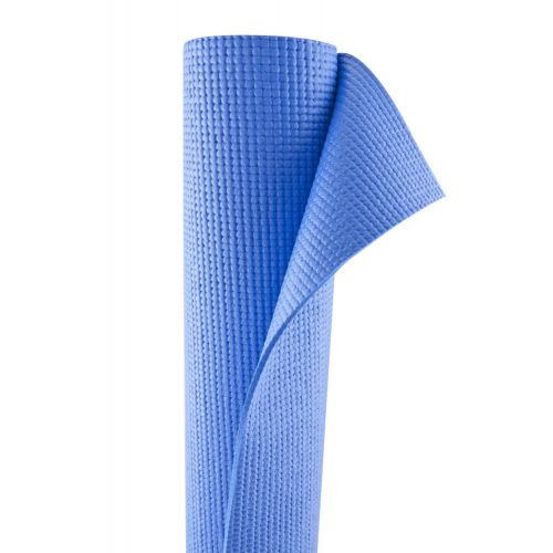 Capetan® PVC Jogamatte 173 x 61 x 0,4 cm in BLAUER Farbe – Fitnessmatte