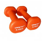 Capetan® 2x0,75 kg ein Paar Einhandhanteln mit Neoprenüberzug – Neoprenhanteln