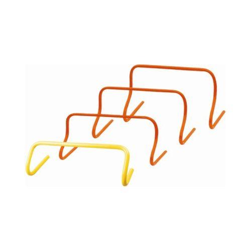 Capetan® Minihürdenset mit 23 cm fixer Höhe: 6-er Set, orangene Farbe