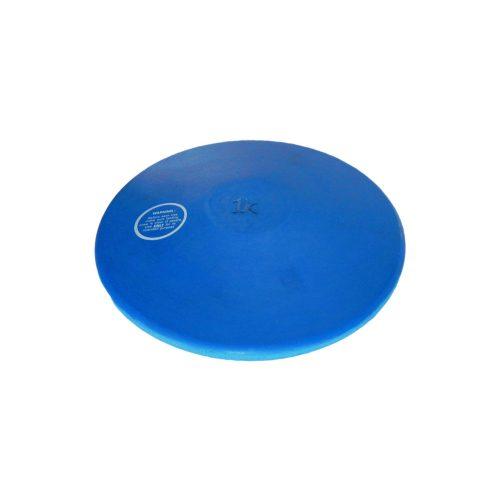 Capetan® Trainingsdiskus aus Gummi – blaue Farbe; hinterlässt keine dunkle Spur auf dem hellfarbigen Fußboden